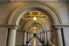 Luxury walkway Stock Photography