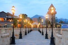 Luxury walkway Royalty Free Stock Photography