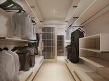Luxury wardrobe in modern style Stock Photos