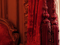 Luxury warm interior. Luxury warm velvet interior royalty free stock photography