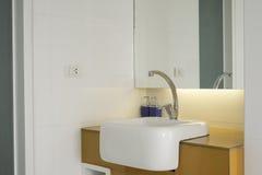Luxury wash basin in a bathroom. Stock Photography