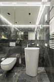 Luxury washroom in modern style Royalty Free Stock Images