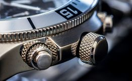Luxury Watch Detail stock image
