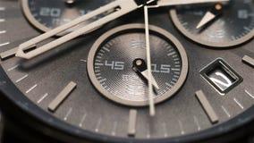 Luxury Watch Face stock footage