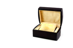 Luxury watch gift box Stock Images