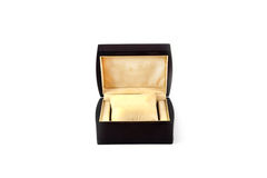 Luxury watch gift box Stock Photography