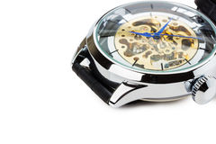 Luxury watch isolated on the white background Royalty Free Stock Photos