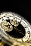 Luxury Watch With Roman Numerals. Close up on a watch with roman numerals royalty free stock images