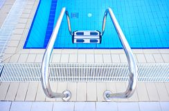 Luxury water pool swimming Royalty Free Stock Images