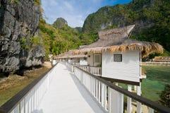 Luxury Water Villas Stock Image