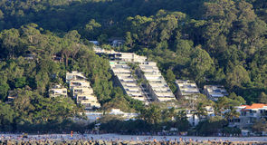 Luxury waterfront accommodation at Noosa Stock Photos