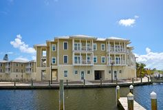 Luxury Waterfront Living Royalty Free Stock Image