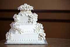 Luxury Wedding Cake Stock Image