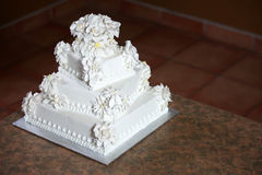 Luxury Wedding Cake Royalty Free Stock Photos