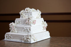 Luxury Wedding Cake Stock Photo