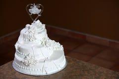 Luxury Wedding Cake Stock Photography