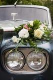 Luxury wedding car Royalty Free Stock Images
