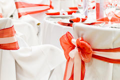 Luxury wedding decoration Royalty Free Stock Photos