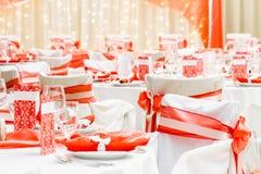 Luxury wedding decoration Stock Photography