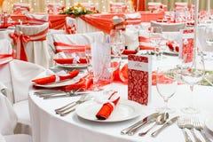 Luxury wedding decoration Royalty Free Stock Image