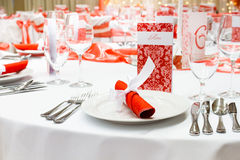 Luxury wedding decoration Stock Photos