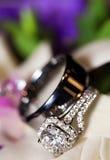 Luxury wedding ring Royalty Free Stock Image