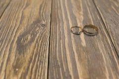 Luxury wedding rings Royalty Free Stock Image