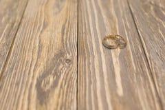 Luxury wedding rings Royalty Free Stock Photo