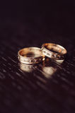 Luxury Wedding Rings Stock Photo