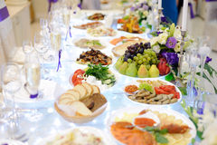 Luxury Wedding Table Stock Photos