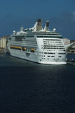 Luxury White Cruise Ship Stock Photos