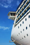 Luxury white cruise ship Royalty Free Stock Photography