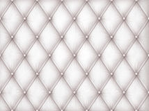Luxury white leather Stock Images