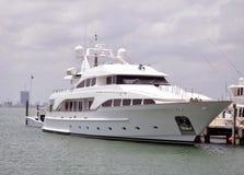 Luxury White Yacht Royalty Free Stock Photo