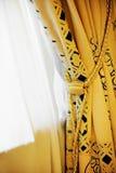 Luxury window curtain Royalty Free Stock Image