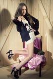 Luxury woman Royalty Free Stock Photo