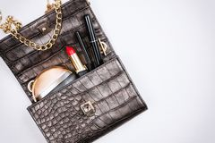 Modern woman accessories. Royalty Free Stock Images