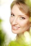 Luxury woman with a beautiful makeup Stock Photos