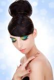 Luxury woman model Royalty Free Stock Photo