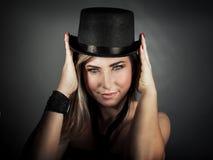 Luxury woman portrait Stock Photography