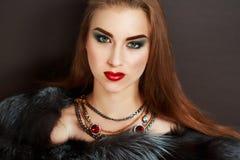 Luxury woman Stock Photography