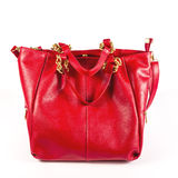 Luxury women bag  over white Royalty Free Stock Photography
