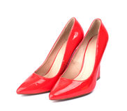 Luxury womens shoes Royalty Free Stock Photo