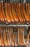 Luxury Wooden Suit Hanger Stock Photos