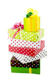 Luxury wrapped presents Royalty Free Stock Photos