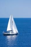 Luxury yacht. In the sea Stock Photo