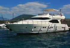 Luxury yacht. Stock Images