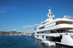 Luxury yacht Stock Photos