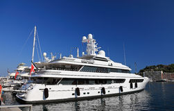 Luxury yacht. Royalty Free Stock Photo