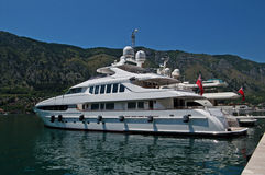 Luxury Yacht Stock Image